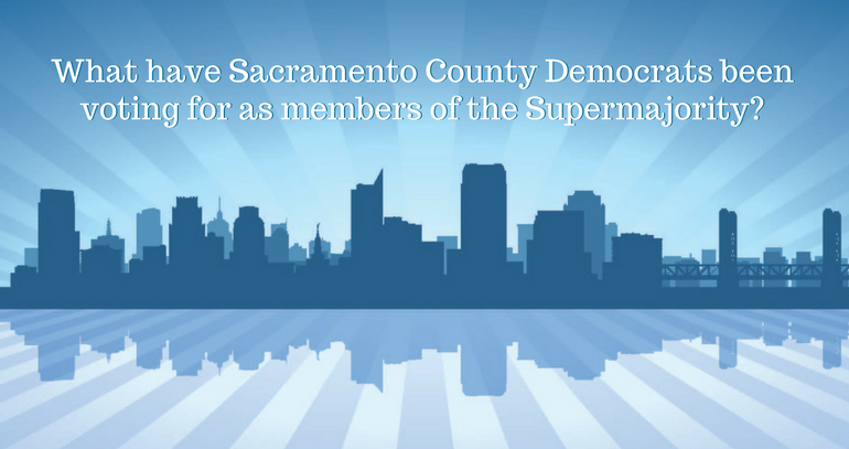 Consequences of a Democrat Supermajority in California