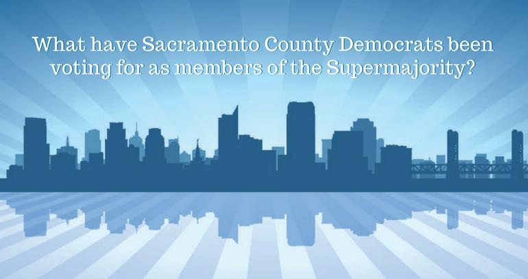 Consequences of a Democrat Supermajority in California