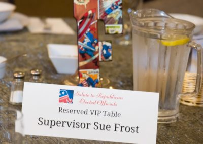 VIP Table Frost