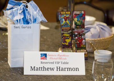 VIP Table Harmon