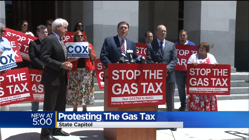Democrats on Defense to Protect High Gas Tax
