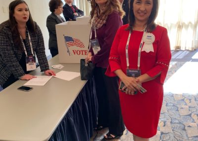 Lisa Moreno ready to vote