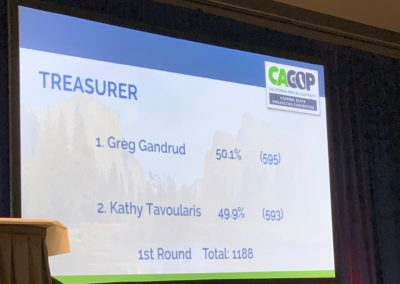 Treasurer Vote Count - A Close One!