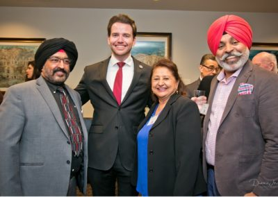 Harmeet Dhillon Reception Kevin Kiley Guests