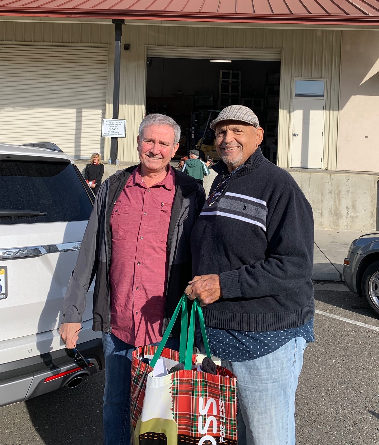 Stockings for Loaves and Fishes SacCountyGOP Delivers